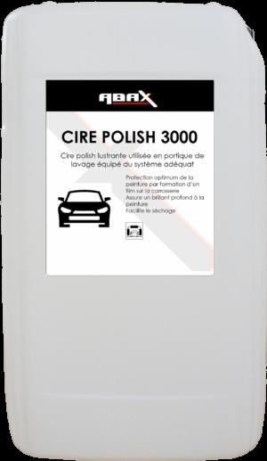ABAX D955+ CIRE POLISH 3000 - Bidon plastique de 25 L