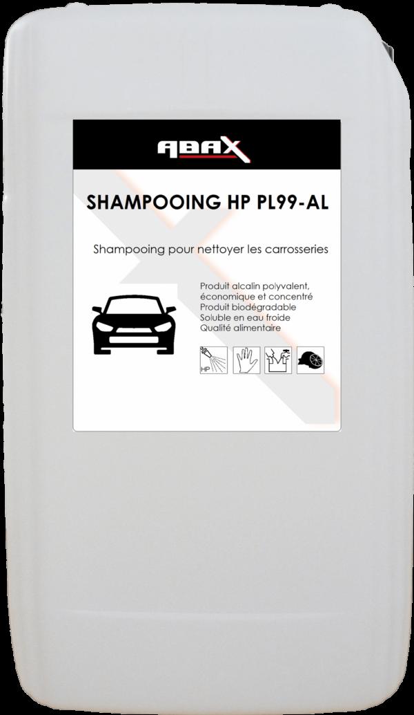 ABAX 010820 - SHAMPOOING HP PL99/AL - Bidon plastique de 20 kg