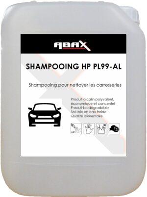 ABAX 01085 - SHAMPOOING HP PL99/AL - Bidon plastique de 5 kg