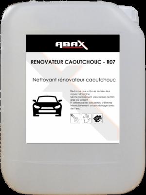ABAX 01715 - RENOVATEUR CAOUTCHOUC R07 - Bidon plastique de 5 L