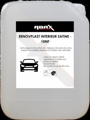 ABAX 02125 - RENOVPLAST INTERIEUR SATINE - 10 NF Bidon plastique de 5 L