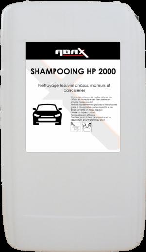 ABAX 024625EF - SHAMPOOING HP 2000 - Bidon plastique 25 L