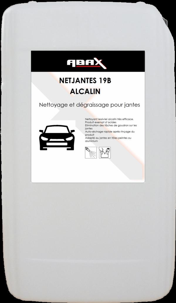 ABAX 033520 - NETJANTES 19B ALCALIN - Bidon plastique de 20 L