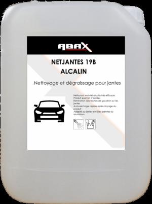 ABAX 03355 - NETJANTES 19B ALCALIN - Bidon plastique de 5 L