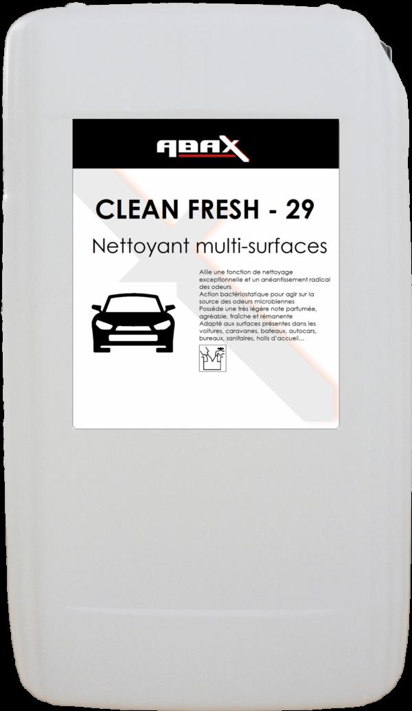 ABAX 033820 - CLEAN FRESH 29 - Bidon plastique de 20 L