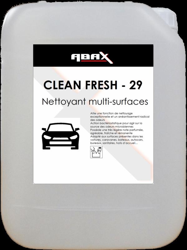 ABAX 03385 - CLEAN FRESH 29 - Bidon plastique de 5 L