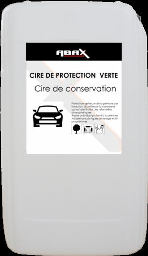 ABAX 047925 - CIRE DE PROTECTION VERTE - Bidon plastique de 25 L