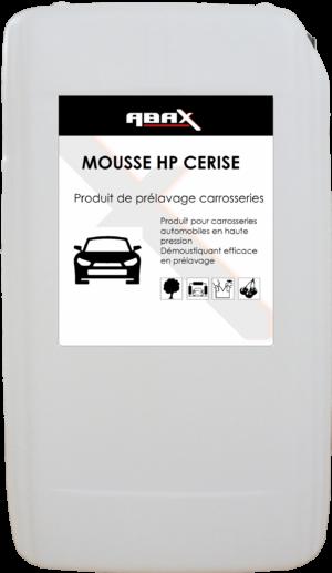 ABAX 048025CER - MOUSSE HP CERISE - Bidon plastique de 25 L