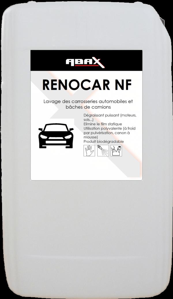 ABAX 075720 - RENOCAR NF - Bidon plastique de 20 L