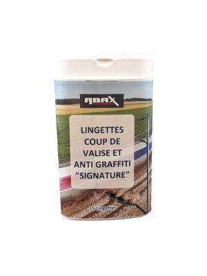 Lingettes anti graffiti